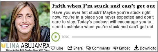 Faith when stuck_Podcast
